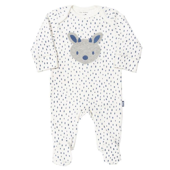 Kite Forest Fawn Schlafanzug  Crème Gestrickt GOTS