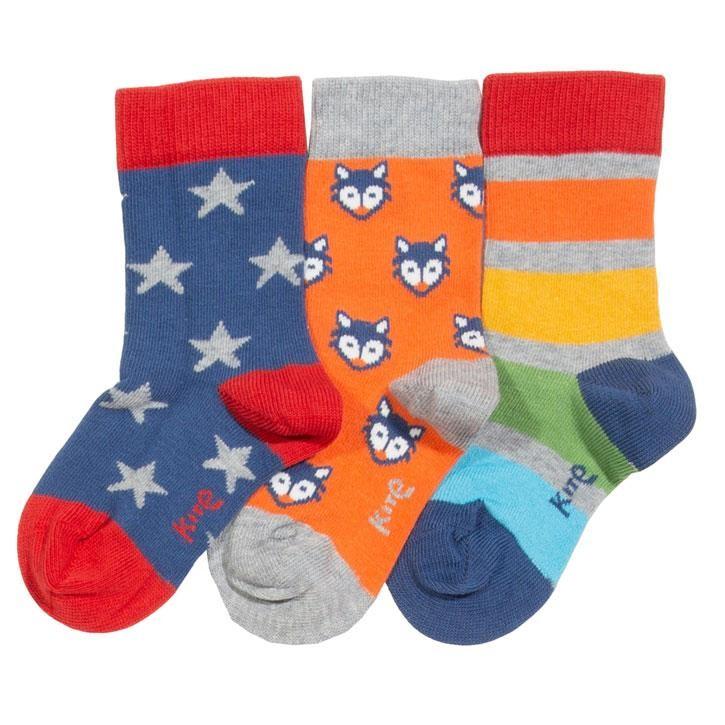 Kite Little Cub Socken  Multi Gestrickt GOTS