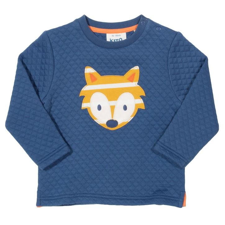 Kite Little Cub Sweatshirt  Navy Gestrickt
