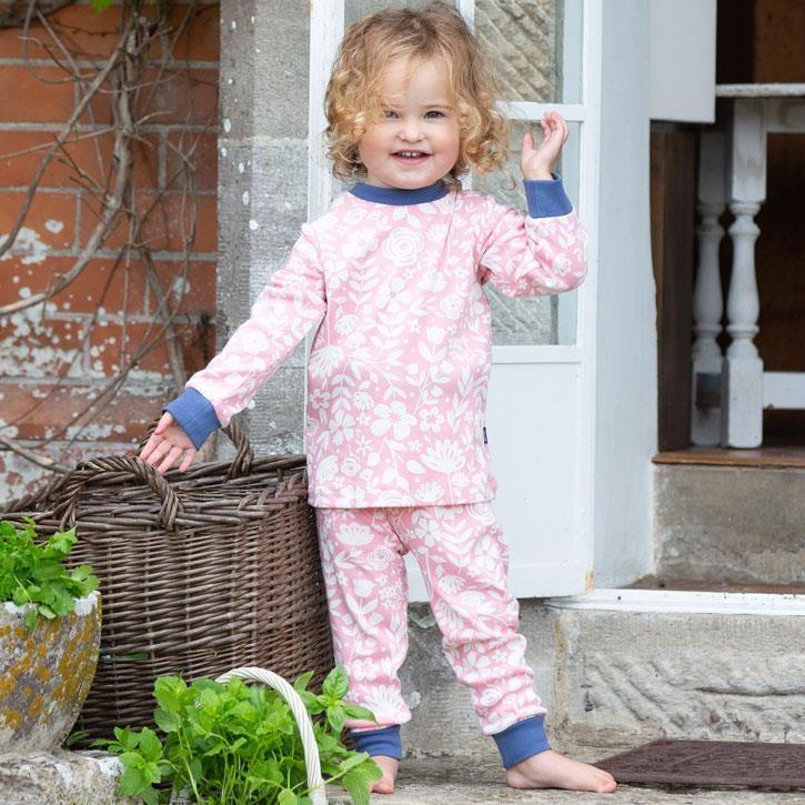 Kite Pretty Petal Pyjama 100% Bio-Baumwolle