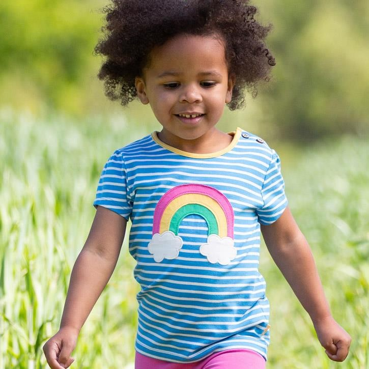 Kite Rainbow T-Shirt Ocean