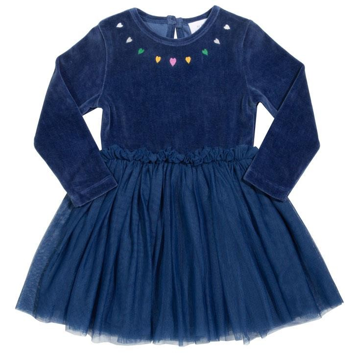 Kite Velvety Fairy Kleid  Navy Gewebt/Gestrickt