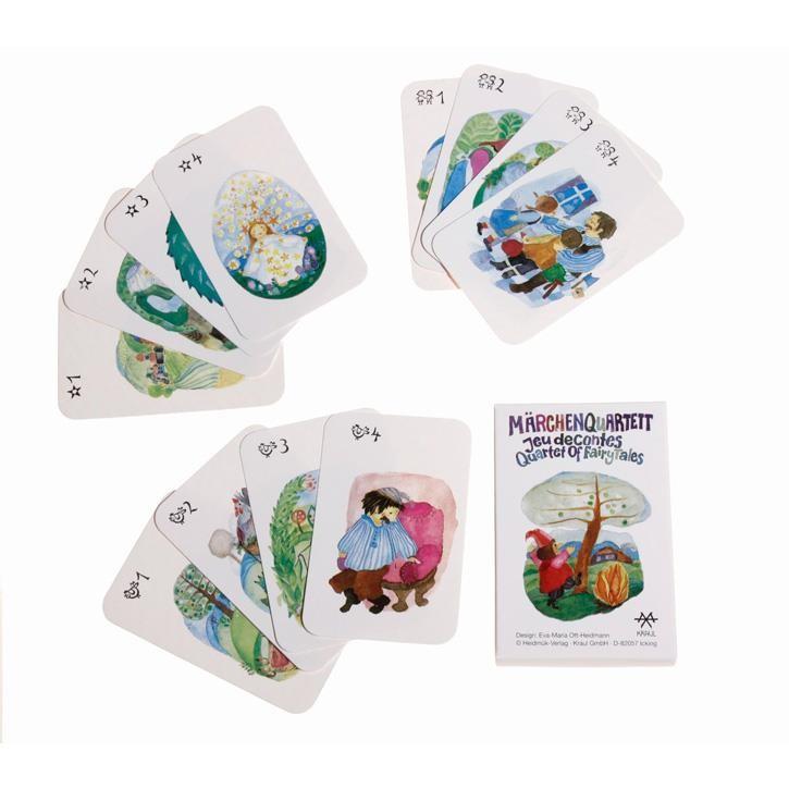 Kraul Märchenquartett (32 Karten) 9720