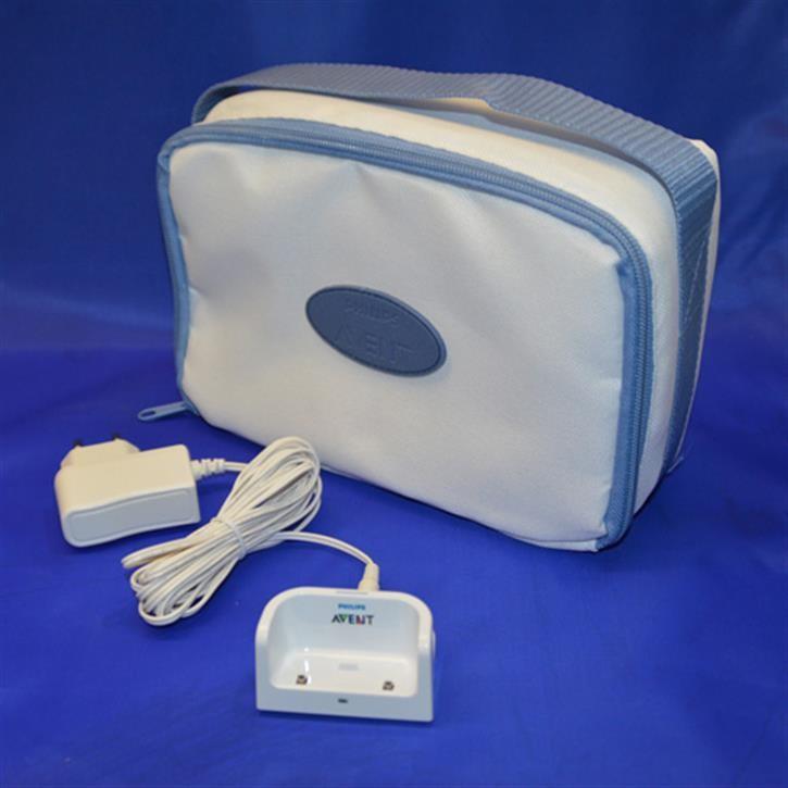 Ladeschale mit Netzteil + Babyphonetasche SCD530,535,536, SPARSET