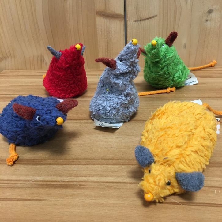 Lana Mausfamilie 5 Stück verschiedene Farben