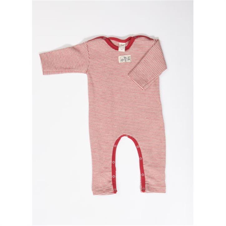 Lilano Anzug mit Beinumschlag rot-ringel
