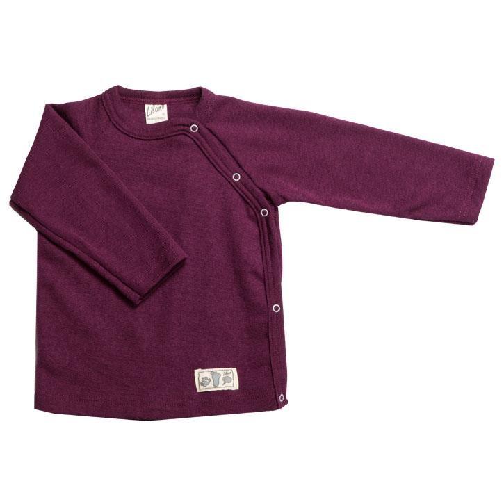 Lilano Shirt 1/1-Arm mit seitlicher Knopfleiste beere