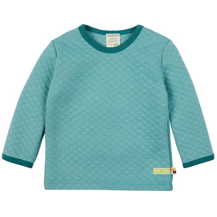 loud + proud Langarm Shirt Padded Knit Oregano