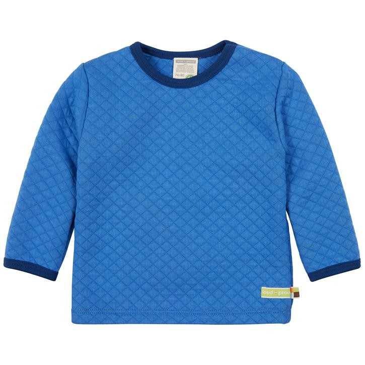 loud + proud Shirt Padded Knit  Indigo