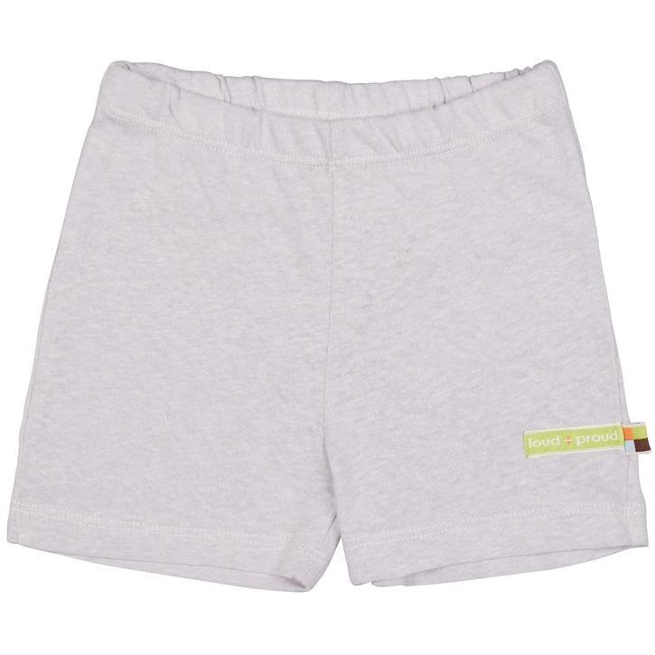 Loud+Proud Short uni 70% Baumwolle (kbA), 30% Leinen