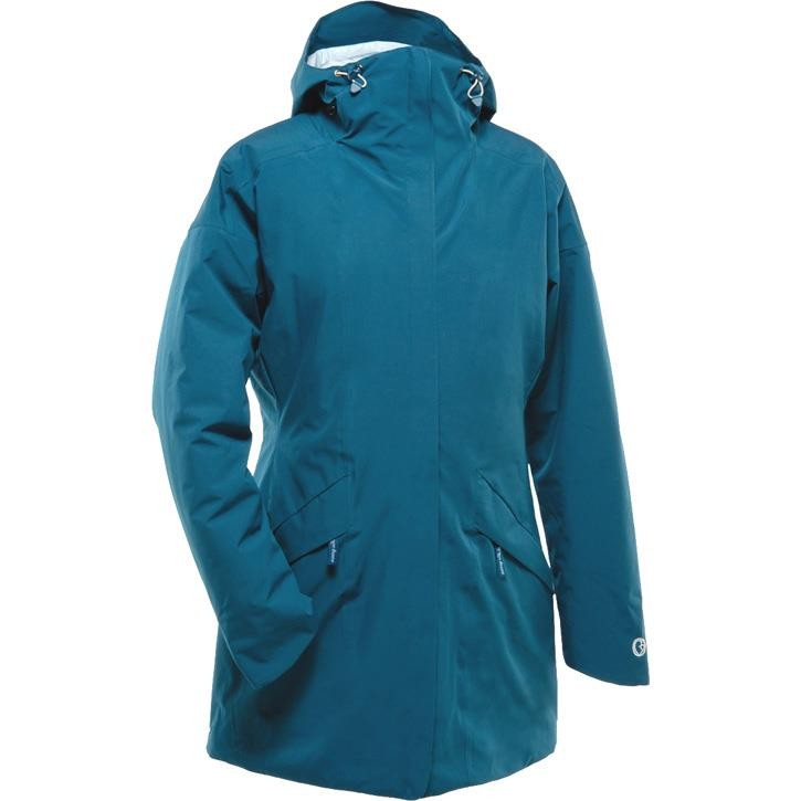 Mamalila Winter-Trageparka WinterWander deep teal