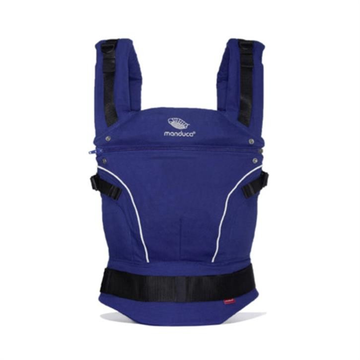 Manduca PureCotton Babytrage Royal Blue