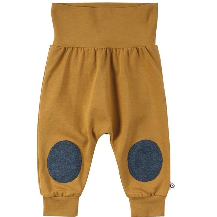 Müsli COZY ME Babyhose mit Knie-Patches  Wood 1535063900