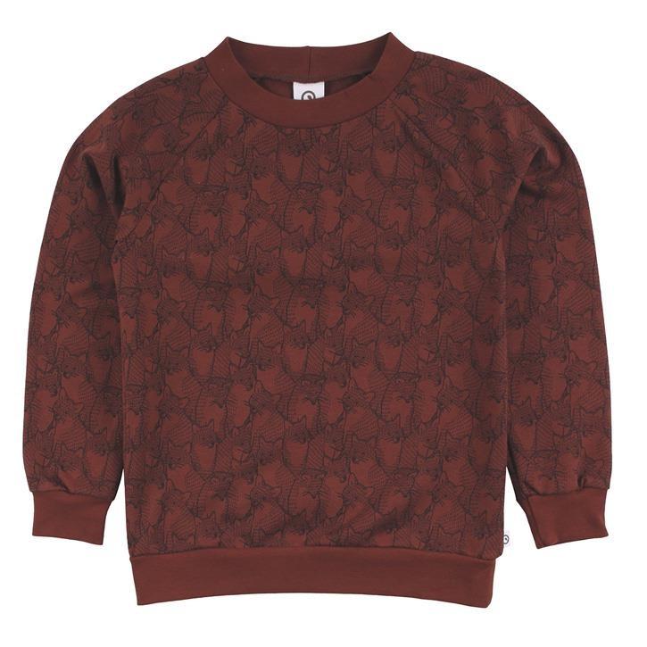 Müsli Fuchs Sweatshirt Fudge CO/95,EL/5