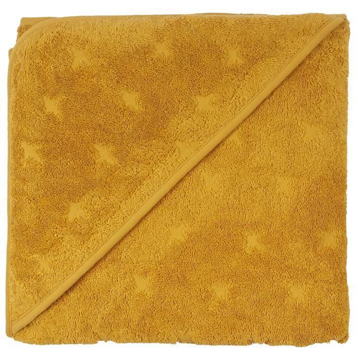 Müsli Kapuzenhandtuch Mustard CO/100