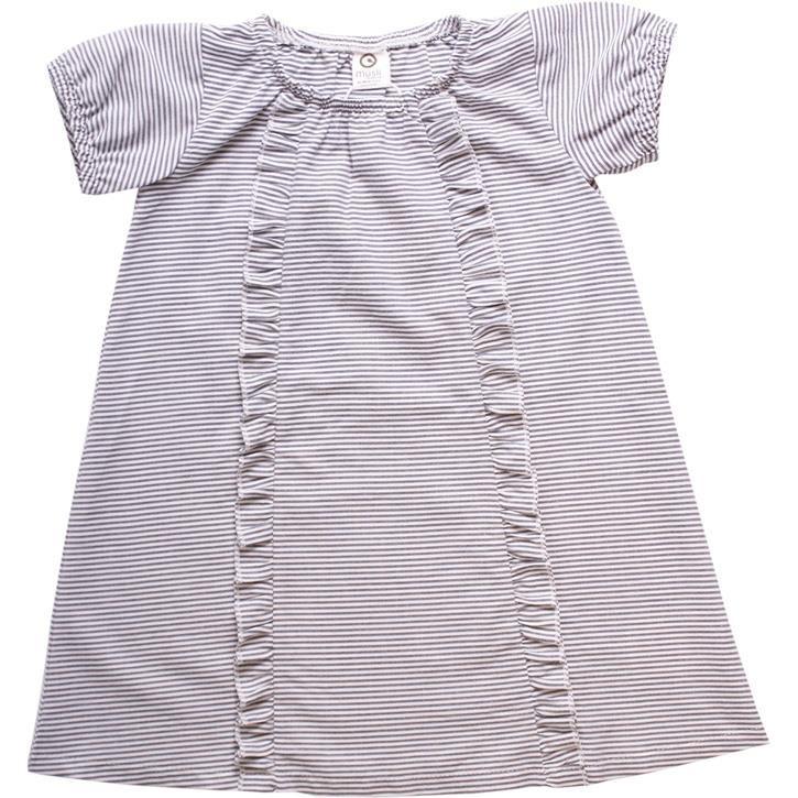 Müsli Kleid Streifen White/blue stripe