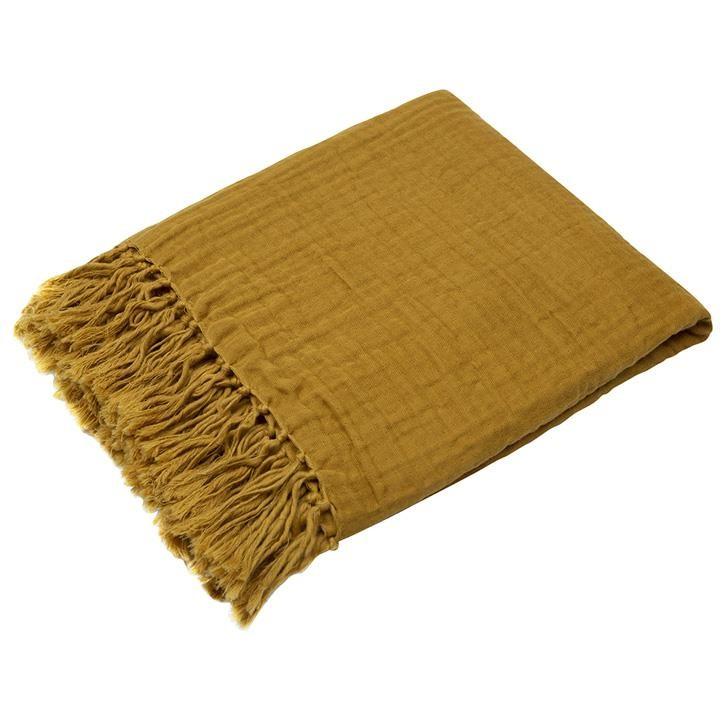 Müsli Musselin-Decke 90x90 Wood 1579017900