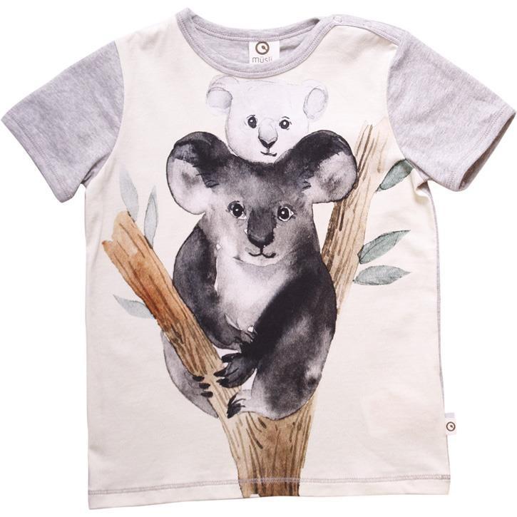 Müsli Spicy T-Shirt Koala Pale greymarl