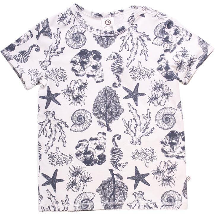Müsli T-Shirt Unterwasser Cream