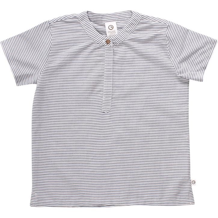 Müsli T-Shirt White/blue stripe