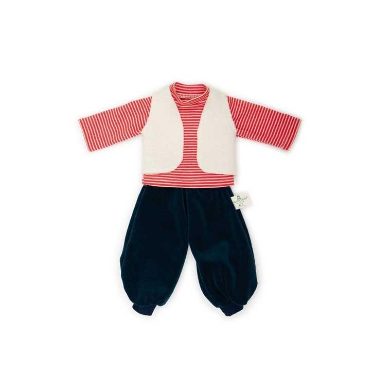 Nanchen Bekleidungsset Schulkind 35cm 612405