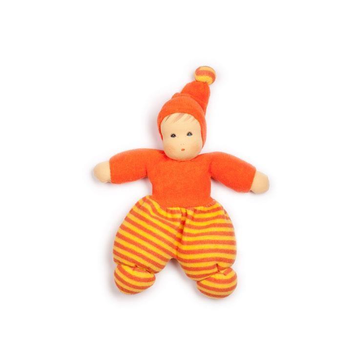 Nanchen Mini Möpschen orange gestreift 23cm 163411