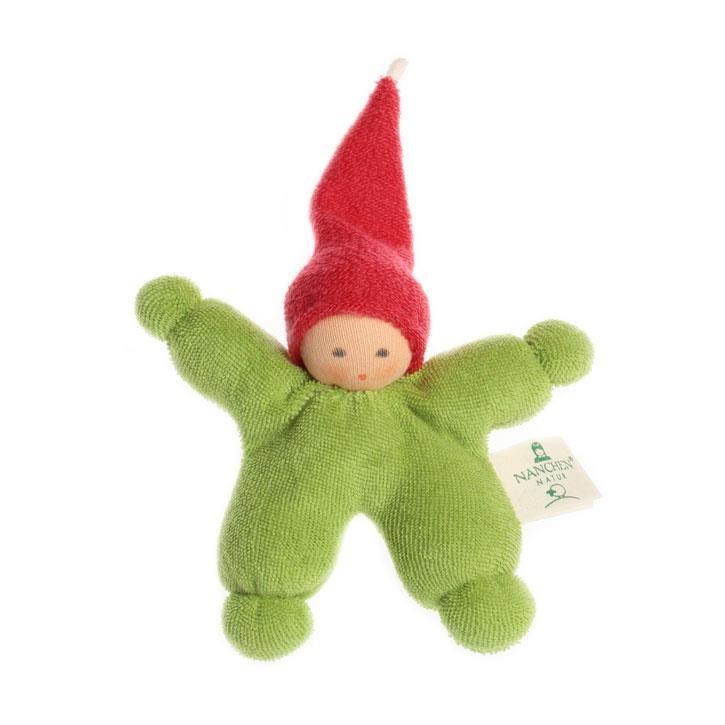 Nanchen Wichtel grün-rot 11cm 172407