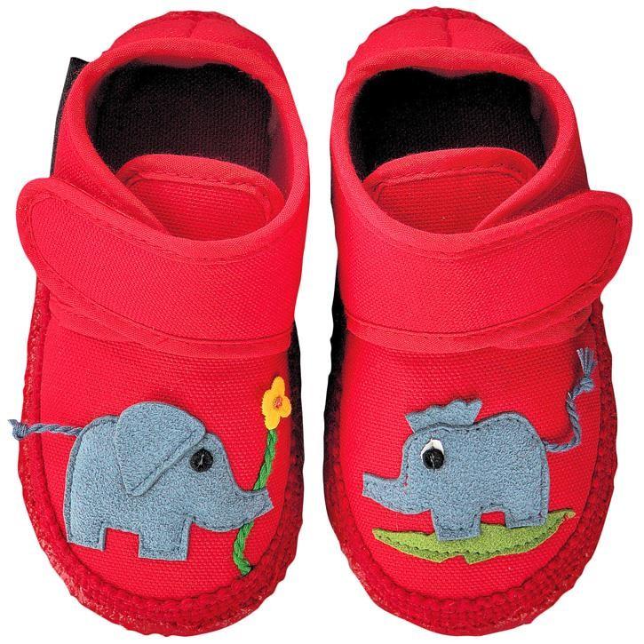 Nanga Dumbo Baby-Hausschuh rot 18