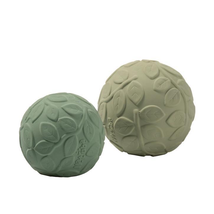 Natruba Sensorik Bälle Set grüne Blätter