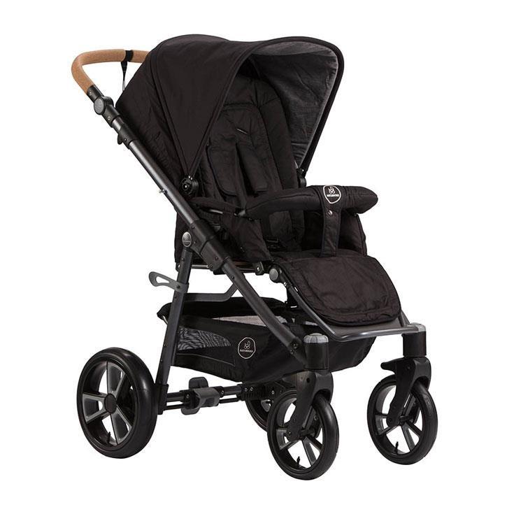 Naturkind Panther Kinderwagen LUX Gestellfarbe dunkelgrau