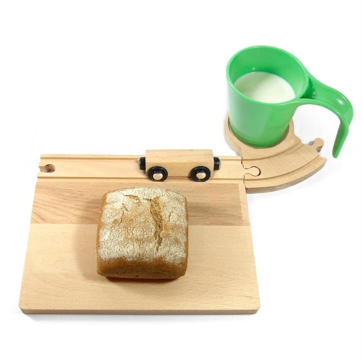 Neue Freunde - Eisenbahn Frühstücksset mit gelber Tasse - Aktionspreis
