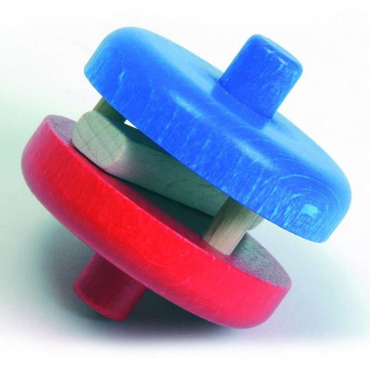 NIC 1633 MB Klapperscheibe rot/blau
