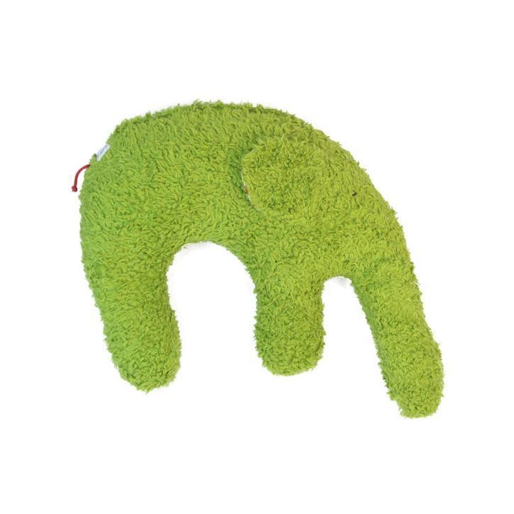 Pat und Patty Elefant grün Kuschelkissen 28 x 35 cm