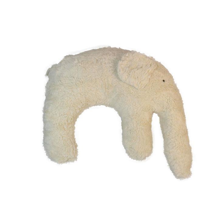 Pat und Patty Elefant natur Kuschelkissen 28 x 35 cm