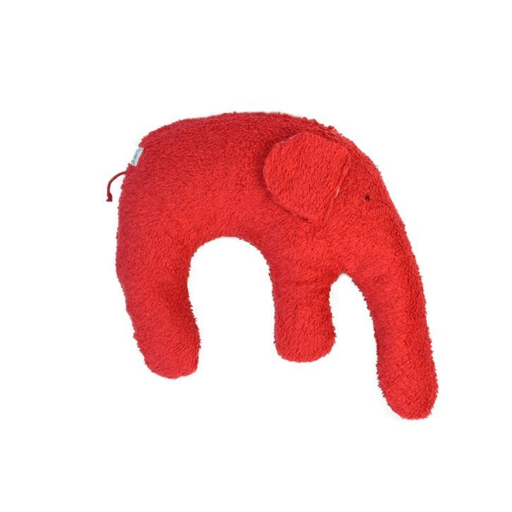 Pat und Patty Elefant rot Kuschelkissen 28 x 35 cm