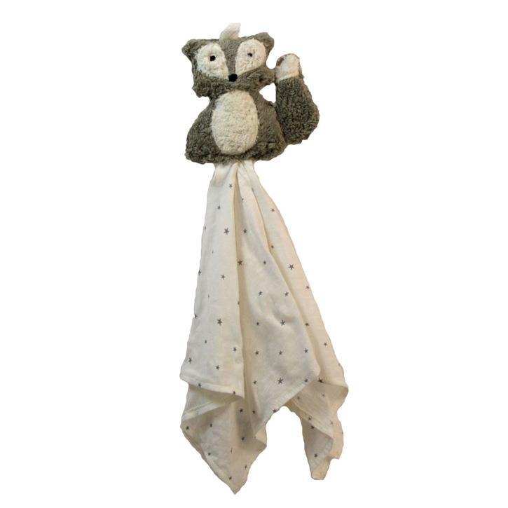 Pat und Patty Fuchs grau Schnuffeltuch Trösterchen 10 x 35 cm