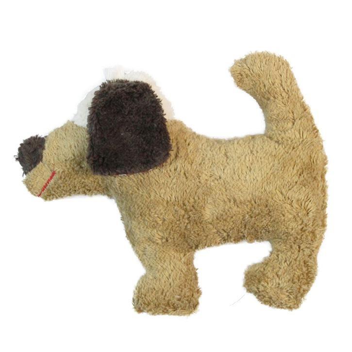 Pat und Patty Hund hellbraun Rassel 18 x 23 cm