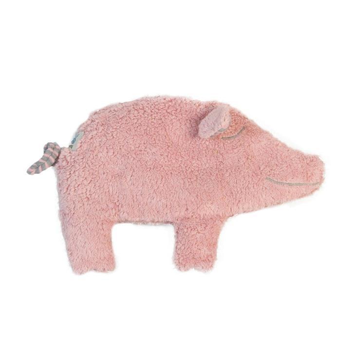 Pat und Patty Schwein rosa (plüsch) Wärmekissen 20 x 28 cm
