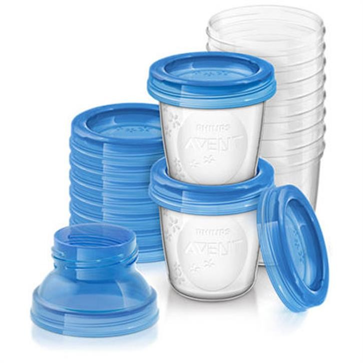 Philips Avent Muttermilchbehälter SCF618/10, Set