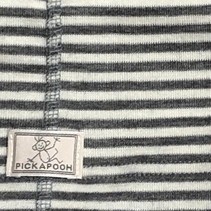 Pickapooh Strunzl, Wolle/Seide, 2 / natur/grau