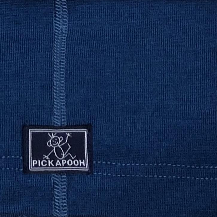 Pickapooh Stulpen, ocean, 70%Wolle/30%Seide