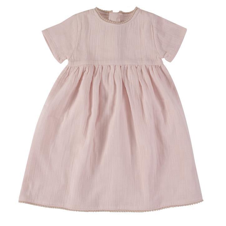 Pigeon Hübsches Musselin-Kleid pink