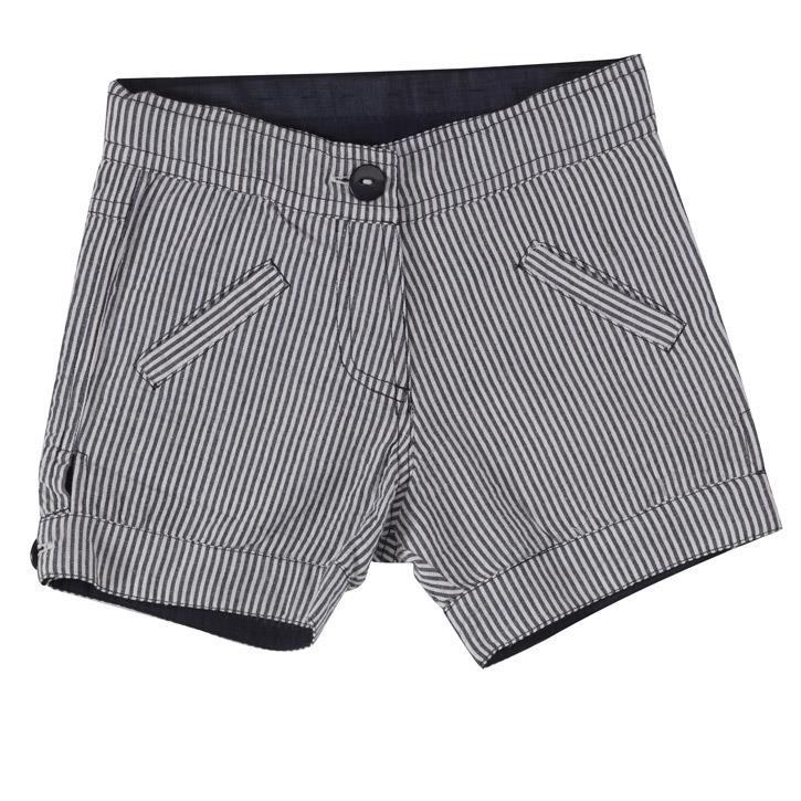 Pigeon Mädchen-Shorts (Seersucker) navy