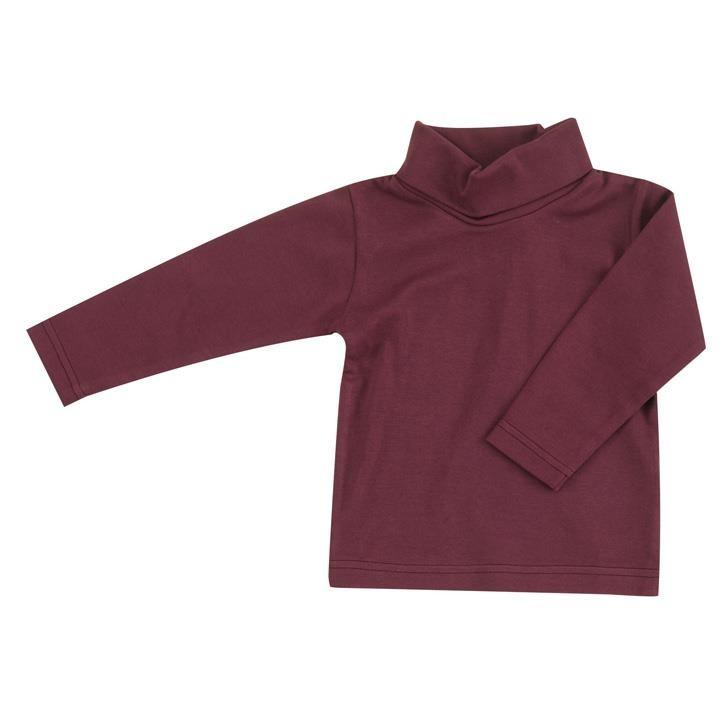 Pigeon Rollkragen Shirt (schlicht), feige