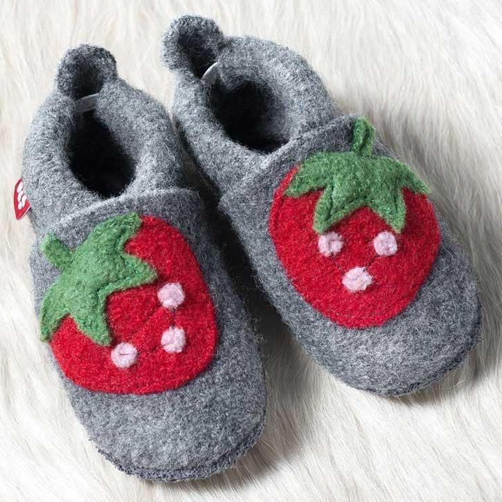 Pololo Walkschuh Wolli Erdbeere