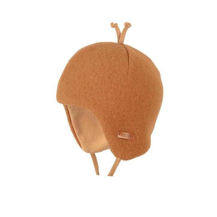 PurePure Baby-Binde Fleece karamell