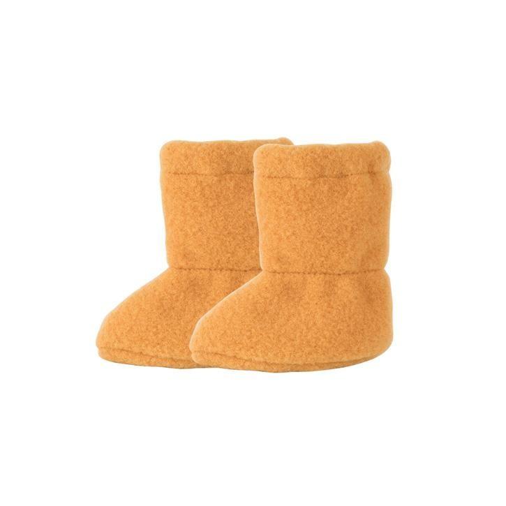 PurePure Baby Stiefel Fleece bernstein 100% Bio-Merinowolle kbT