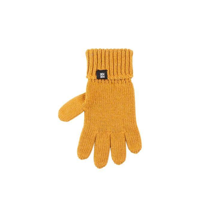 PurePure Kids-Handschuh bernstein
