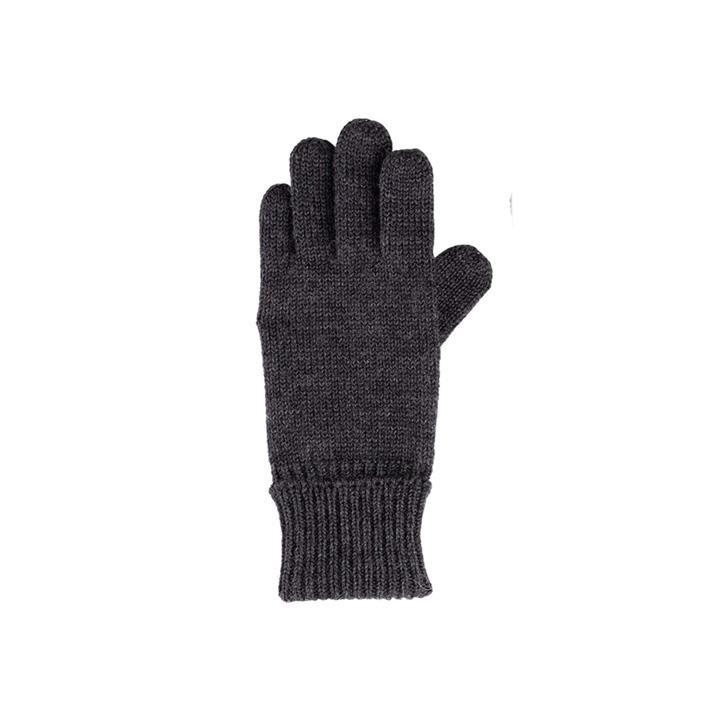 PurePure Kids-Handschuh WV anthrazit 100% Merinowolle