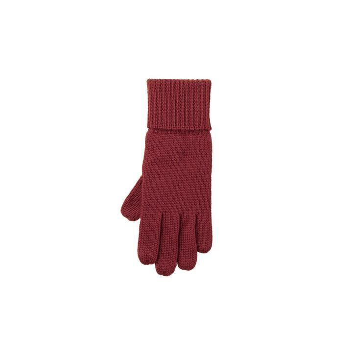 PurePure Kids-Handschuh WV dunkel kirsch 100% Merinowolle